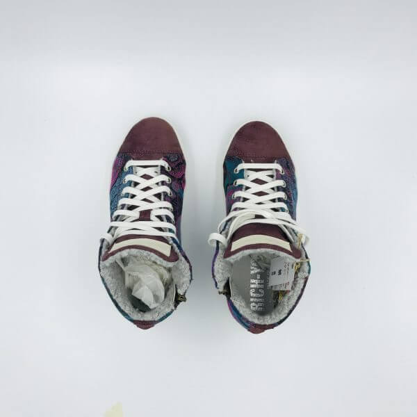 Sneakers jam purple / multicolour