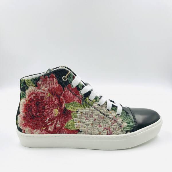 Sneaker pine green / multicolour