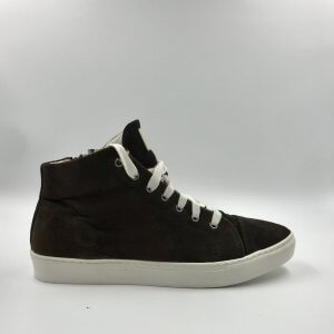 Rust Brown suede with Dark Brown Leather